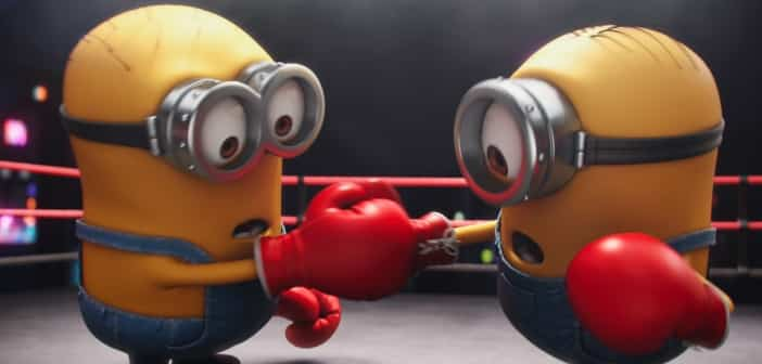 """""""Competition"""" Minions DVD - Don't Miss The Mini Movie 2"""