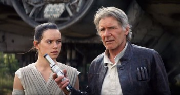 Star Wars -The Force Awakens  Rey and Han Solo