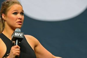 Ronda Rousey Backing Up Bernie Sanders' Run For Presidency