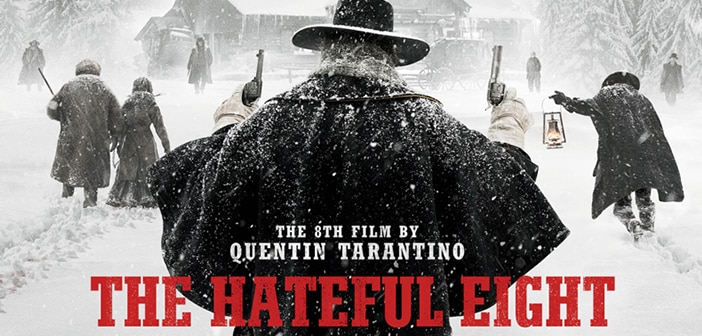 Meet Quentin Tarantino's The Hateful Eight - 70mm  theaters Christmas Day 1