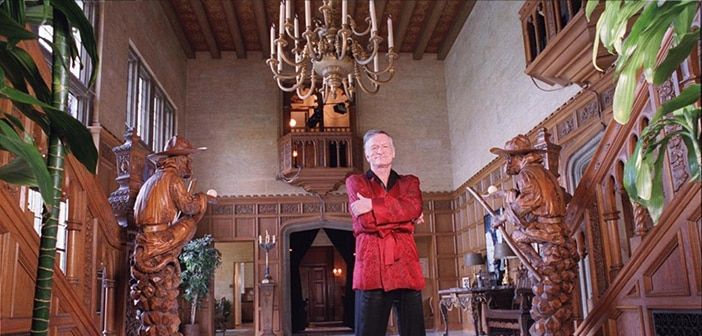 Hugh Hefner Is Selling The Playboy Mansion But Won't Be Moving Out