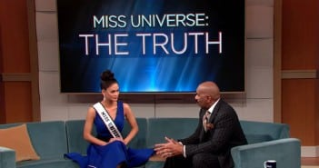 Steve Harvey  Show With Miss Universe