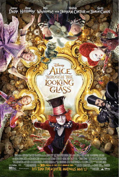 alice through the looking glass-poster
