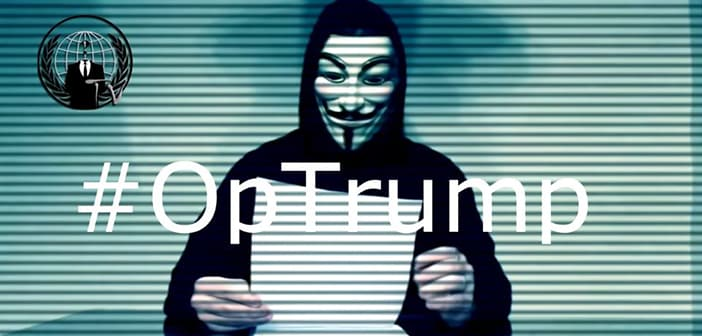 Hacktivist Group 'Anonymous' Are Issuing A Call-To-Action Against Trump