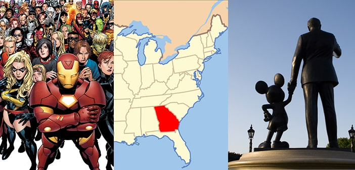 Disney & Marvel Ready To Abandon Georgia If Anti-Gay Bill Is Passed