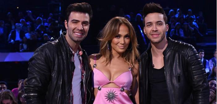 Jencarlos Canela & Prince Royce (THE PASSION) + Jennifer Lopez (American Idol)