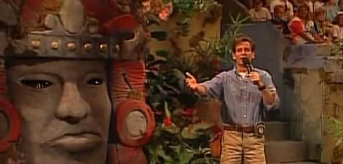 Nickelodeon Calls Back Kirk Fogg To Host For Reboot For 'Legends of the Hidden Temple'