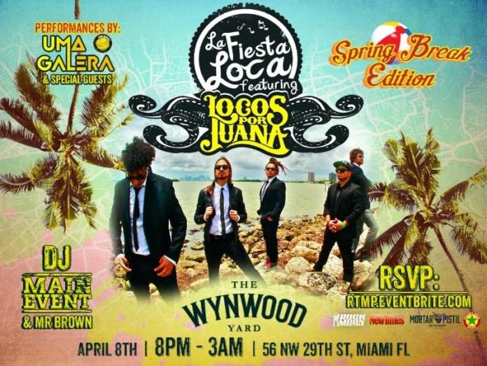 Locos por Juana Presents La Fiesta Loca-a monthly residency at Wynwood Yard