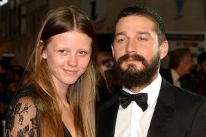 Shia LaBeouf And 4-Year Girlfriend Mia Goth Are Now Engaged