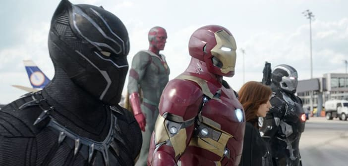 Marvel's CAPTAIN AMERICA: CIVIL WAR - Come See The New #TeamIronMan Posters 6