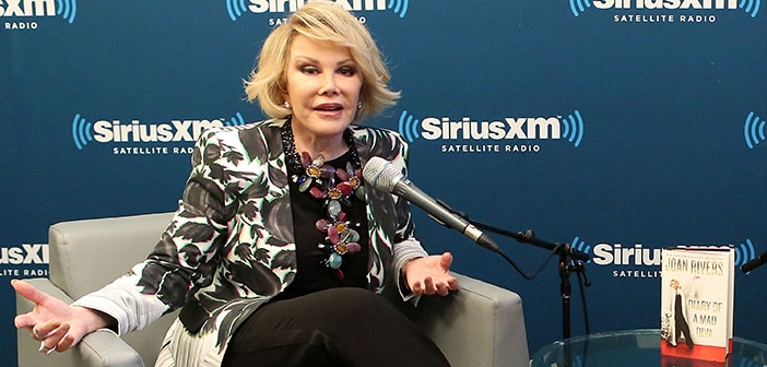 Late Comedian Joan Rivers' Belongings Will Be Heading To Auction