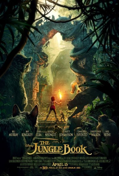 jungle book first poster