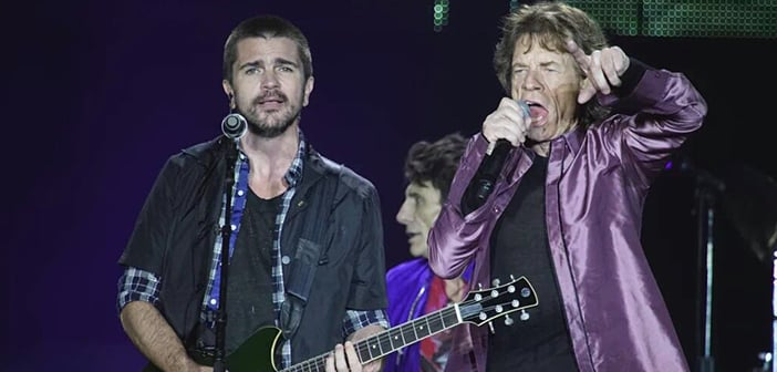 JUANES Makes Surprise Concert Appearance  With THE ROLLING STONES In Colombia 1