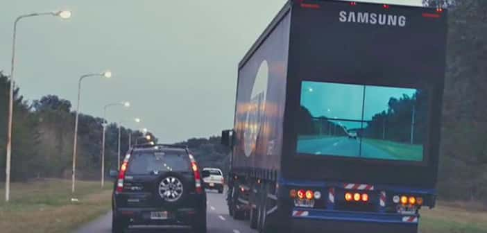 Samsung Creating 'See-Through' Feature On Semi's In New Safety Initiative
