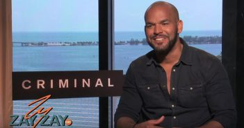 Alice Sarfati Sits down with Amaury Nolasco to discuss CRIMINAL