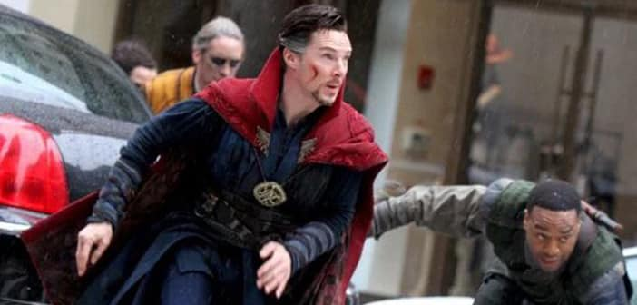Benedict Cumberbatch Decides To Buy Some Comic Book In Costume As Dr. Strange 2