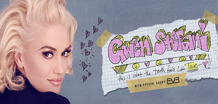 Gwen Stefani Schedules This is What the Truth Feels Like' Summer Tour With Fellow Songs-tress Eve