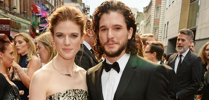 Kit Harington And Rose Leslie Finally Confirm They're Dating At Red Carpet  For London Award Ceremony