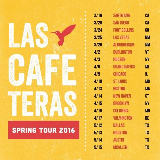 Las Cafeteras - US Spring Tour