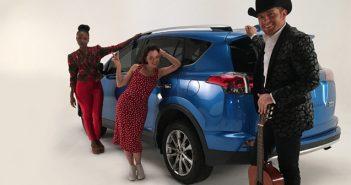 Latin artists El Dasa, Natalia Lafourcade and Goyo joined Toyota #AceptaElReto challenge