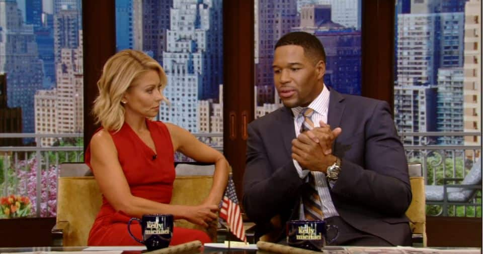 Kelly Ripa Returns To Live! With Kelly and Michael With Some Special Words For Co-Host Michael Strahan