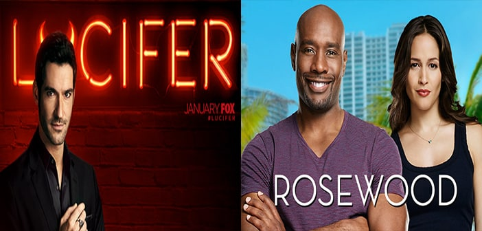 FOX Orders Second Serving Of Seasons of New Dramas LUCIFER and ROSEWOOD