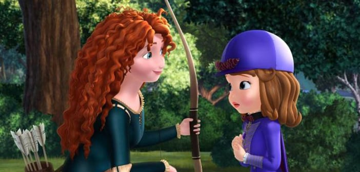 SOFIA THE FIRST SECRET LIBRARY - Available on Disney DVD June 7 2