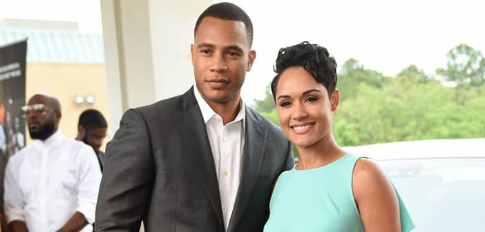 Church Bells Are Ringing For New Married 'Empire' Co-Stars Grace Gealey and Trai Byers