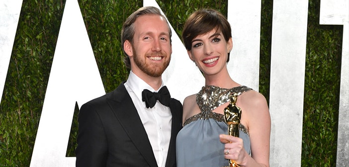 Anne Hathaway and Husband Adam Shulman Introduce Their First Child To The World