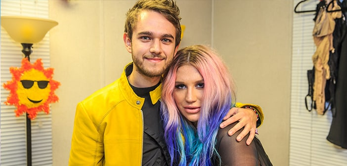 "Kesha Finishes New Track With  DJ Zedd Called ""True Colors"""