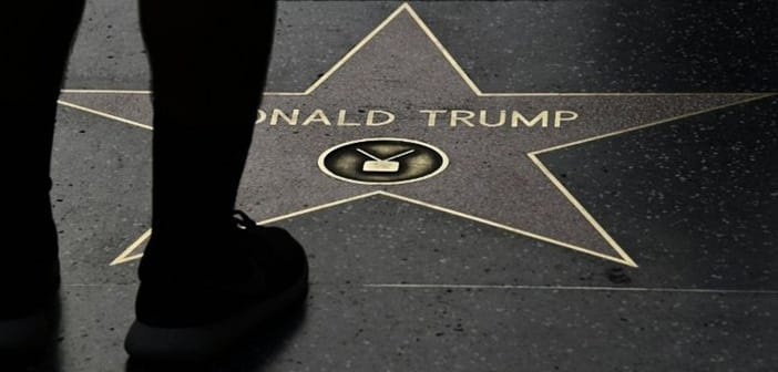 Donald Trump's Star On the Hollywood Walk of Fame Has Been Targeted Almost Daily With Various Defacements