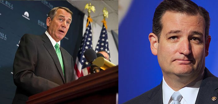 Former House Speak John Boehner Is Publicly Referring To Ted Cruz As 'Lucifer In The Flesh'