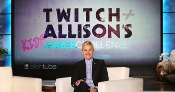 tWitch & Allison's Dance Challenge - EllenTube