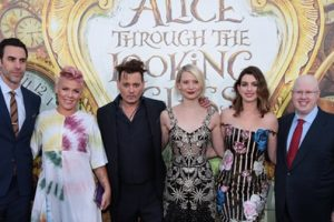 Images From The 'Alice In Wonderland: Through The Looking Glass' U.S. Premiere 1