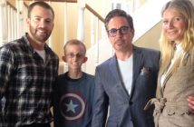 Avengers Visit Cancer Battling Fan Ryan Wilcox  - Wide