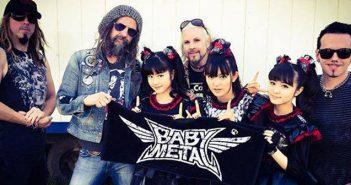 Babymetal thanking Rob Rob Zombie