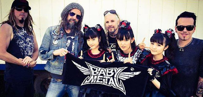 Rob Zombie Steps In tO Support All Girl Japanese Rock Group 'Babymetal' Against Trolls Dismissing Them As Being Rock