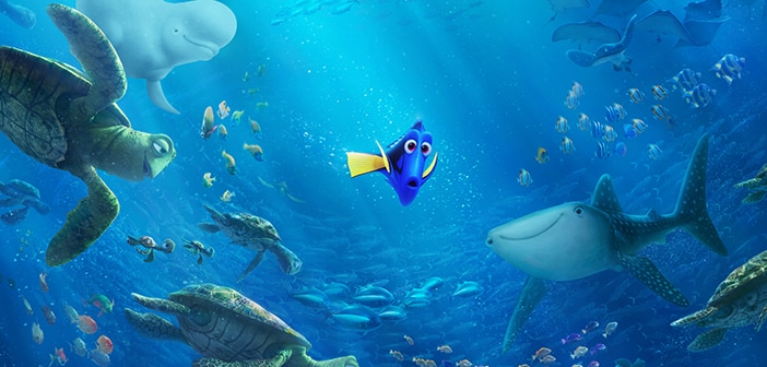 Two New Clips from FINDING DORY - Just Keep Searching & Totally Slick 3