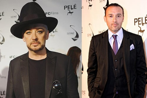 L Boy George (Copyright Gypset Magazine) R Seth Michaels (Copyright Alma Salomon)
