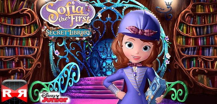 SOFIA THE FIRST: THE SECRET LIBRARY - DVD Giveaway