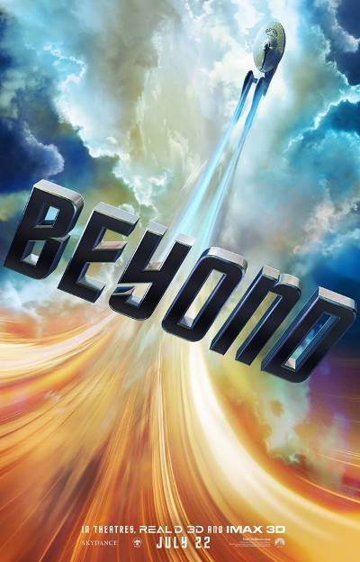 STAR TREK BEYOND - tall poster