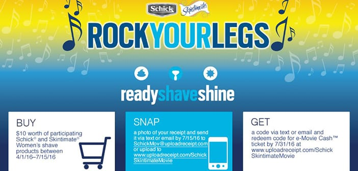 Schick Rock YOUR LEGS_ campaighn feature