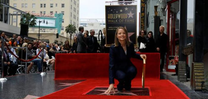 Oscar Winner Jodie Foster Finally Awarded With Star On Hollywood Walk Of Fame