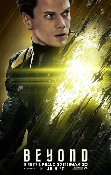 Star Trek Beyond - Character Poster (Alenko)