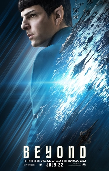 Star Trek Beyond - Character Poster (Spock)
