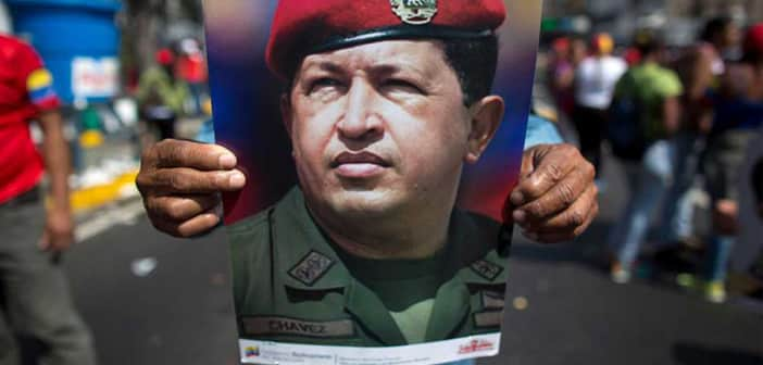 SONY Promoting New Series Based On The Life Of  The Late President Hugo Chavez