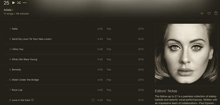 "Adele's Album ""25"" Finally Released For Online Streaming"