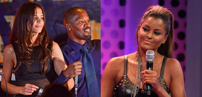 Claudia Jordan Clears Up Misunderstanding From a Statement She Made Confirming Katie Holmes' & Jamie Foxx's Relationship
