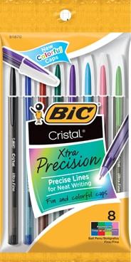 Cristal® Xtra Precision Ball Pen