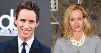 Eddie-Redmayne-and-JK-Rowling